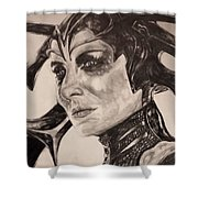 Hela The Goddess Of Death Shower Curtain