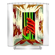 Held Hope Shower Curtain