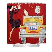 Held: Sheik & Sheba, 1925 Shower Curtain