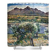 Helderberg Clearmountain Cape Town South Africa Shower Curtain