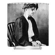 Helen Keller (1880-1968) Shower Curtain
