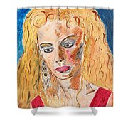 Helen Of Troy Shower Curtain