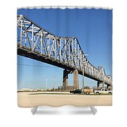 Helena Arkansas Bridge 2 Shower Curtain
