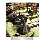 Helicopter 1 Shower Curtain