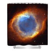 Helix Nebula Shower Curtain
