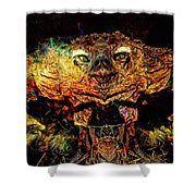 Hell Bird Shower Curtain
