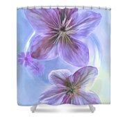Hellebore Art Shower Curtain