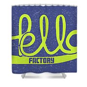 Hello Factory Shower Curtain