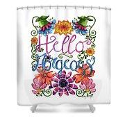 Hello Gorgeous Plus Shower Curtain