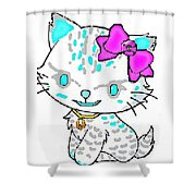 Hello Nirvana Shower Curtain