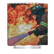 Hell's Acre  Shower Curtain