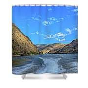 Hells Canyon 01 Shower Curtain