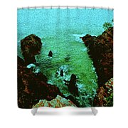 Hell's Gate #2 Shower Curtain