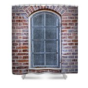 Helsingor Grilled Window Shower Curtain
