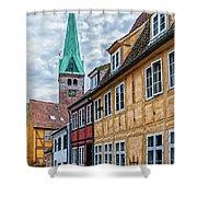 Helsingor Old Street Shower Curtain