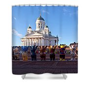 Helsinki Cathedral Shower Curtain