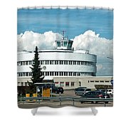 Helsinki - Malmi Airport Building Shower Curtain
