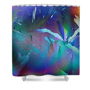 Helter Skelter Frost Shower Curtain