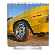 Hemi 'cuda - Ready For Take Off Shower Curtain