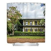 Hemingway House, Key West, Florida Shower Curtain