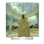 Hemingway Memorial  Shower Curtain