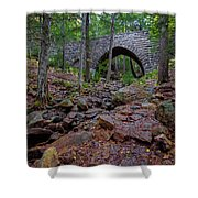 Hemlock Bridge Shower Curtain
