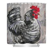 Hen II Shower Curtain