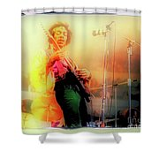 Hendrix Live Shower Curtain