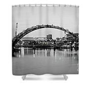 Henley Street Bridge Renovation 3 Shower Curtain