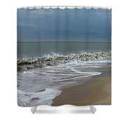 Henlopen Shore Shower Curtain