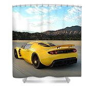 Hennessey Venom Gt Shower Curtain