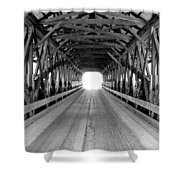 Henniker Covered Bridge Shower Curtain