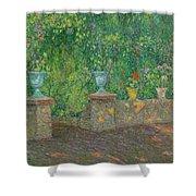 Henri Le Sidaner 1862 - 1939 The Pots Faience Shower Curtain