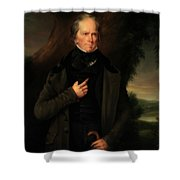 Henry Clay Shower Curtain