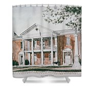 Henry County Courthouse Shower Curtain