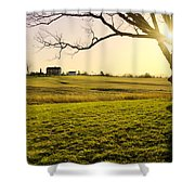 Henry Hill Shower Curtain