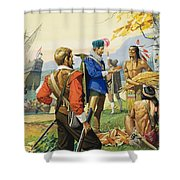 Henry Hudson Shower Curtain