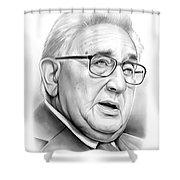Henry Kissinger Shower Curtain