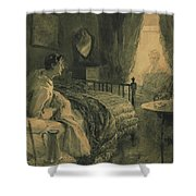 Apparation Shower Curtain