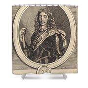 Henry Somerset, 1st Duke Of Beaufort, K.g. Shower Curtain