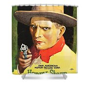 Henry Starr In A Debtor To The Law 1919 Shower Curtain
