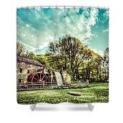 Henry Wadsworth Longfellow's Wayside Inn Gristmill, Sudbury, Massachusetts Shower Curtain