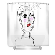 Her Day Shower Curtain