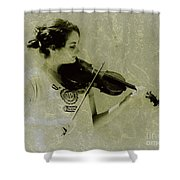 Her Music Shower Curtain