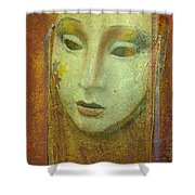 Her Party Face Shower Curtain