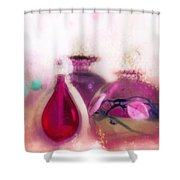 Her Perfume Bottles Shower Curtain