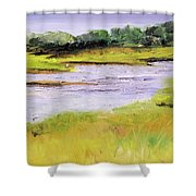 Her River Dream Shower Curtain
