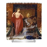 Hera In The House Of Hephaistos Shower Curtain