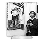 Herbert Thoma Shower Curtain