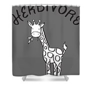 Herbivore Shower Curtain
